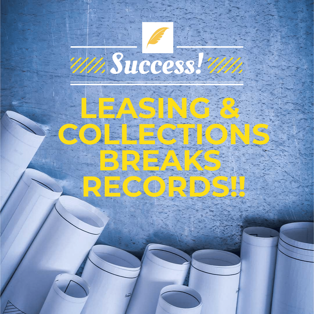Success: AFI L&C Breaks Multiple Income Records!