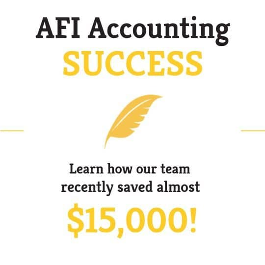 Accounting Success – Water Bill Anomaly