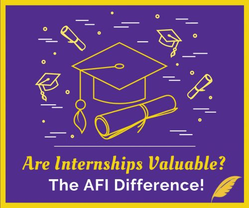 How to Get an Internship: The AFI Difference!