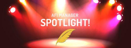 AFI Manager Spotlight! – July 2021